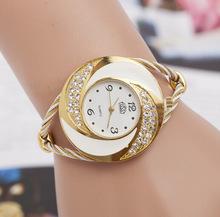 Aliexpress hot new ladies tecido pulseira relógio de quartzo relógio ocasional direto da fábrica(China (Mainland))