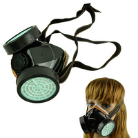 Free Shipping  2Set New Spray Respirator Gas Safety Anti-Dust Chemical Paint Dust Spray Mask