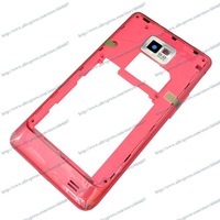 New Original Red Rear Plate Housing Frame For Samsung Galaxy SII S2 I9100 Phone