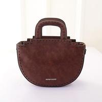2015 Women Circular Handbag Good Leather Women Shoulder Bags Fashion Vintage Crossbody Women Messenger bags  -015