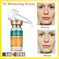 (Min. Order 10$)  Powerful Whitening VC Serum Essence Remove facial spots pigmentation Purifying melanin Skin Bright 10ML