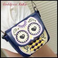 Sweet Cute Girl Cartoon Bag Women Shoulder bag PU Crossbody bag Owl Messenger bag Cute Bolsas feminina MG007