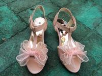 2014 summer new children's sandals children single shoes kids child shoes for girls princess bowtie sandals