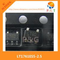 LT1761ES5-2.5 IC REG LDO 2.5V 0.1A TSOT23-5