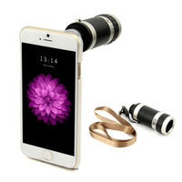 New 8X Zoom Optical Telescope Camera Phone Lens Case Cover for iPhone 6 4.7 inch