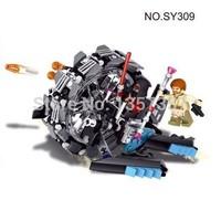 Original Box Star Wars General Grievous' Wheel Bike Play Set Obi-Wan Clone SY309 Building Blocks Sets Model Toys Lego Compatible