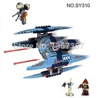 Original Box Star Wars Vulture Droid Buzz & Pilot Battle Droid Neimoidian SY310 Building Blocks Sets Model Toys Lego Compatible