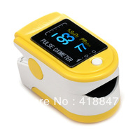 FDA CE Certified Fingertip Pulse Oximeter Spo2 Monitor Blood Oxygen Sturation Monitor 6 Colors Choice