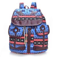 Unique Design Cute women's backpacks lady's fashion backpack shoulder bag national style rucksack ethnic backpacks