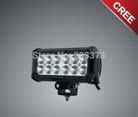 7inch work light bar 36W light bar  54W 72W 90W 180W work light bar spot or floor