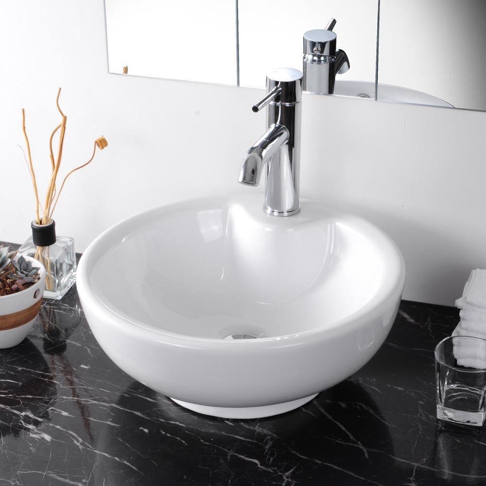 Bathroom Basin Bowls : 16.5