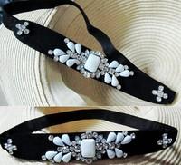 New vintage Western overflow with bridesmaid bridal headband hair band photos headdress decoration flowers