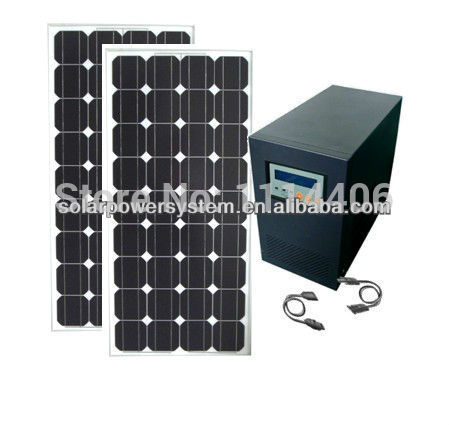 High power low price Poly&Mono solar panel system for home use 500w 800w 1000w/solar PV generator with CE TUV certificate(China (Mainland))