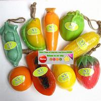 Thailand handmade soap Essential Oils soap Fruit soap bath products