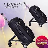 2015 New Arrival Rolling Luggage Unisex Spinner Polyester Travel Suitcase Trolley Bag Of Trip Bolsa Escolar Infantil Feminina