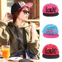 Women Baseball Caps Love Print Golf Snapbacks Hat Sun Visor Hat Hip hop Adjustable Freeshipping
