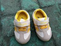 Luminous autumn and winter children shoes male child color block decoration child sport shoes high flasher female child