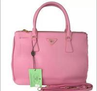 Prado PU leather killer bag ladies handbags the original cross grain leather bag Candy colors bag shoulder bag