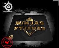 OEM SteelSeries qck mouse pad NIP Ninjas in Pyjamas qck 450X400X4MM Gaming MousePad