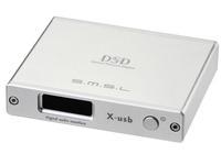 SMSL X-USB XMOS Optical Coaxial IIS 384kHz DSD Jitter DFU HiFi Digital LVDS HDMI SILVER color