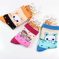 6Pcs/lots 2015 Children Socks New Baby Socks Summer Cotton Girls/Boys Sock Cartoon Children's character socks