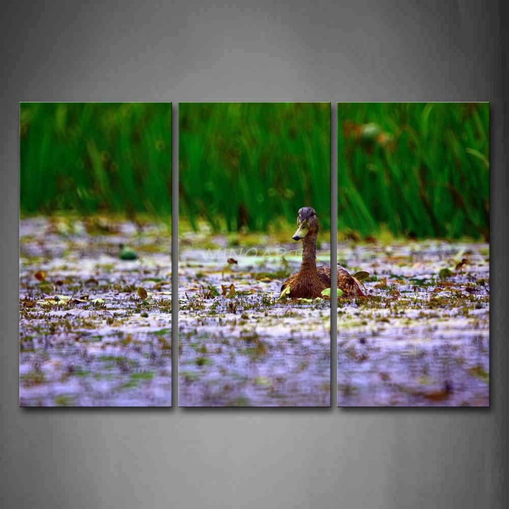 Yellow duck painting