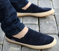 New Summer Loafer Men Shoes British Style Pedal Lounged Shoes Breathable Sneakers Sandasl&slippers 1320