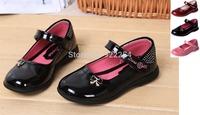 New Fashion Kids girls shoes Toddler Girls Dress Shoes Children Princess Dancing  Flats shoes