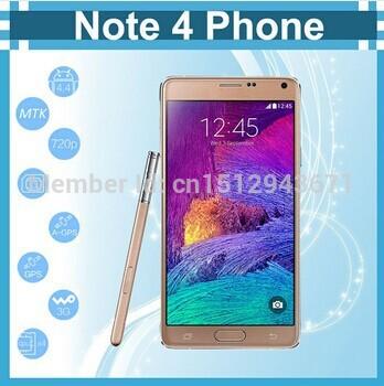 """L'arrivée de nouveaux parfait 1:1 hdc note 4 16go téléphone portable ram rom 3gb mtk6592 octa note4 core téléphone intelligent 5.7"""" 2560*1440 13mp caméra"""