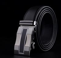 2015 Men's genuine leather belt buckle belt automatic alloy fashion casual belt 001