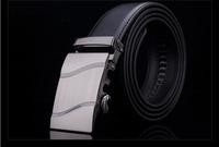 2015 Men's genuine leather belt buckle belt automatic alloy fashion casual belt 0011