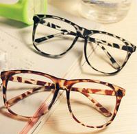 2015 Fashion Cute Mens Women Students Cartoon Eye Glasses Frame No Lens 13 Colors Acetate Eyewear Free Shipping 18034