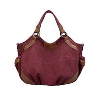 2015 canvas bag one shoulder portable women's cross-body bag women's brief fashionable casual all-match bag big capacity handbag