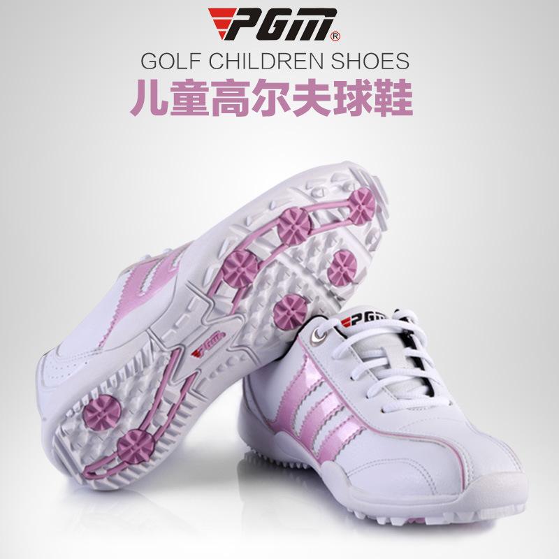 Free Shipping PGM kids professional golf Shoes SGXZ001 1pair/lot(China (Mainland))