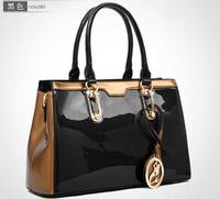 NO.1 New Brand Genuine Leather Handbags Fashion Women Messenger Bags Tassel Bolsas Women's Handbags Patent Leather Handbags Tote