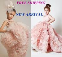 71 2015 small flower train ball gown flower girl dresses for weddings girls pageant dresses prom dress custom made 2015