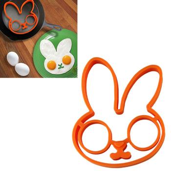 Нежный 1 шт. яйцо маленький белый кролик яйцо формирователь силиконовые формы кольцо силиконовые формы инструменты для приготовления пищи горячая распродажа