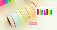 New style light color rainbow deco. paper Tape / Decoration stationery Tape / Sticker label / wholesale