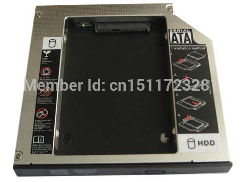 2nd HDD HD SSD Hard Drive Caddy for Fujitsu SH560 SH760 P8020 S6421 S6420 S6520
