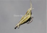 SRX brand free shipping Lure fishing fishing soft baits shrimp hook Best Quality 3cm-4cm 10pcs