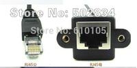20pcs/lot RJ45 Male to RJ45 Female Lan Extension Adapter Cable 30cm