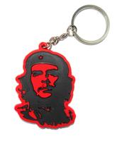 10pcs/lot Che Guevara revolutionary single-sided Keychains key chain Keyring wholesale pendant cartoon toy gift