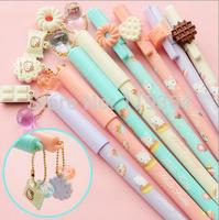 6pcs/lot Kawaii Cute cartoon style gel pen / Creative gel pen / Good price / Office supply / Free shipping