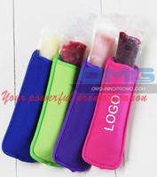 Free shipping! Custom Imprint Neoprene Ice Pole Holder Sleeve Ice Cream Coozie Coolers Coolie Cozy Stubbie Holders Insulators