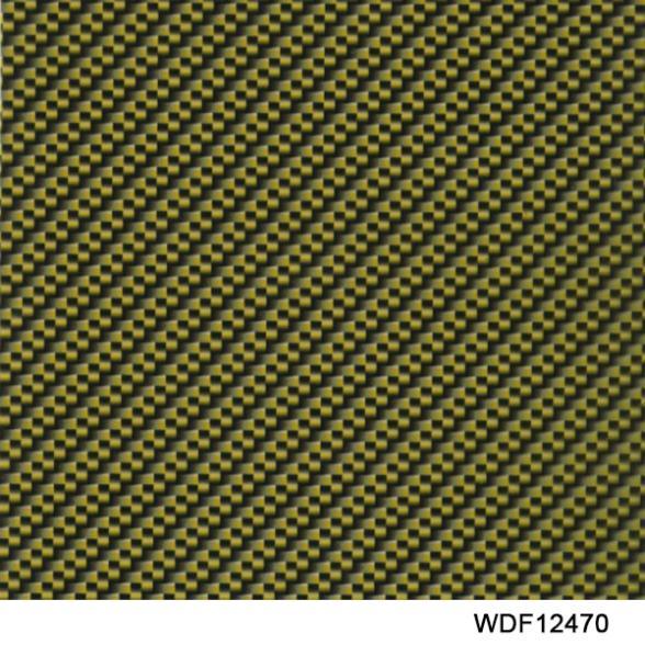 WDF12470 Decorative Material 20 Square Width 1m water transfer printing film carbon fiber water transfer printing film(China (Mainland))