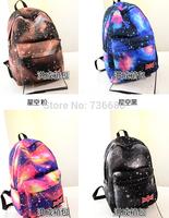 Fashion Galaxy Space Backpack Bangtan Boys School Bags Waterproof Nylon Men's Backpack