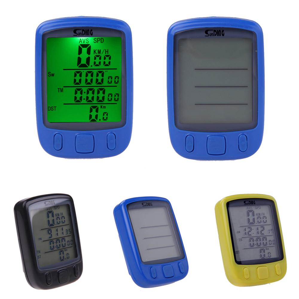Waterproof Wireless Bike Computer LCD Backlight Backlit Bicycle Speedometer Multifunction Cycling Odometer Velocimetro Bicicleta(China (Mainland))