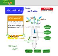 Mini Auto Car Fresh Air Purifier with 12V Negative Ion generator