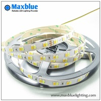 free shipping 5m/reel DC24V 5630 smd led CCT color temperature adjustable and dimmable strip 112leds/m