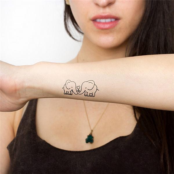 Cartoon Elephant Tattoos Reviews Online Shopping Cartoon Elephant Tattoos Reviews On